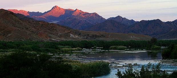 Oragne River, Namibia